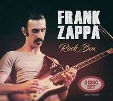 FRANK ZAPPA New Sealed 2020 LIVE 1970s & 80s CONCERTS 3 CD BOXSET
