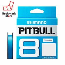 NEW Shimano Pitbull X8 Super Blue 200m 22.4lb(10.2kg) #1.0 Braided PE Line Japan
