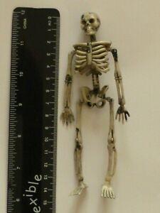 1:12 Scale Skeleton plastic Dolls House Miniature Tudor Witch Accessory
