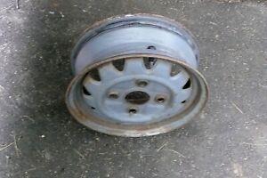 1988-1993  Ford Festiva Steel Wheel  Stock and Original Wheel