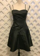 MORGAN & CO. * NWT Fabulous little black dress, semi-formal taffeta * Sz 9/10