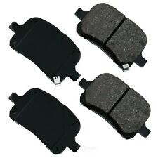 Disc Brake Pad Set-ProACT Ultra Premium Ceramic Pads Front Akebono ACT707