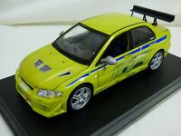1:18 Fast & Furious 2 Brian Paul Walker Mitsubishi Lancer Evolution VII Toy Car