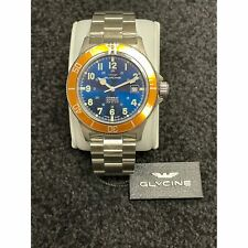 Glycine 3908.18AT.0.MB Men's Combat Sub Blue Automatic Watch