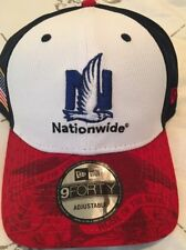 Dale Earnhardt Jr 88 Hat Cap Adjustable Strap Blue Red White America Salute New