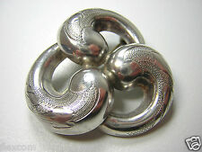 Antike 835 Silber Brosche 6,2 g Brooch Filigrane Handarbeit Silber Schmuck #38