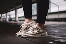 finest selection 67e29 39fc9 NIKE AIR MAX THEA ULTRA SI Oatmeal Ivory 881119-101 Wmn Sz 9 Leather