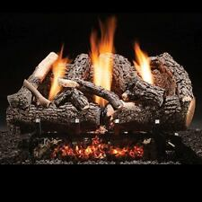 """Heritage Char Vent Free 18"""" Gas Logs with Millivolt Control - NG"""