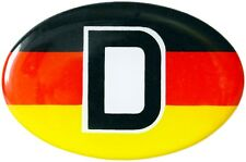 Auto Deutschland Flagge D Aufkleber D Deutschland Emblem Schild HR Art. 19023