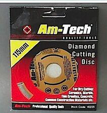 Amtech 115mm Diamond Cutting Disc