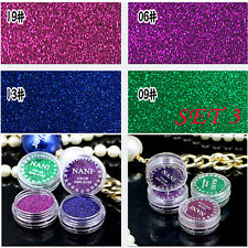 4pcs/set Pro Makeup Loose Powder Glitter Eyeshadow Beauty Eye Shadow Pigment Set3