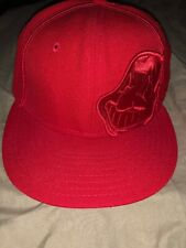 cleveland indians new era 59fifty 7 1/8 Red
