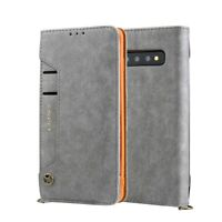CMAI2 PU Leather Stand Wallet Mobile Case Cover for Samsung Galaxy S10 Plus