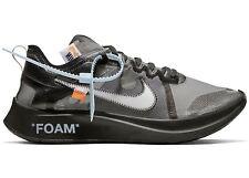 Nike blancuzco Zoom Fly Virgil X Abloh The Ten SP Negro EE. UU. 10 Reino Unido 9 8.5 DEADSTOCK