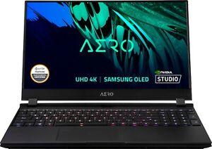 New GigaByte AERO 15.6'' 4K OLED Creator UHD Laptop i7-11880H 16GB 1TB RTX 3060
