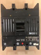 Ge Tjk Tjk626F000 2 pole 250 amp 600V Circuit Breaker Tjk626F250