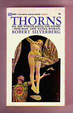 THORNS (SIGNED by Robert Silverberg/1st US/PBO)
