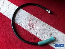 """SCUBA DIVING PRE-OWNED 26"""" / 200 PSI LP BCD POWER INFLATOR HOSE WITH PROTECTOR"""