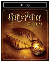 Harry Potter: 8-Film Collection (HD BluRay) NEW!! FAST FREE SHIPPING !!
