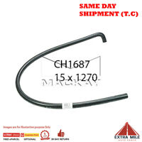 CH1687 Heater Hose for Holden Commodore VL 5.0L V8 Petrol Manual / Auto Mackay