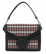 Coccinelle Ambrine Wool Small Hand Bag Noir