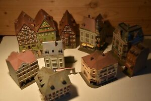 Kibri/Faller/Pola/Herpa Spur N   verschiedene Modellgebäude, einzeln