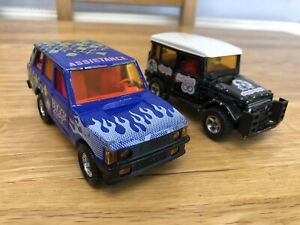 Majorette Toyota and Range Rover 1/36 Scale Diecast