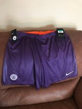 Nike Breathe Manchester City Purple Soccer Shorts NWT Size XL Mens