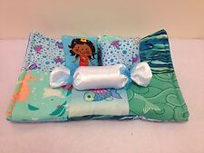 MERMAID QUILT BEDDING SET FOR BARBIE, MONSTER HIGH, OR BRATZ DOLLS