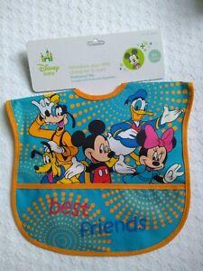 Disney Baby Minnie Mickey Mouse Waterproof Bib