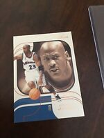 Michael Jordan flair FLEER 02-03 #69 Basketball Card