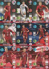 Panini Adrenalyn XL UEFA EURO 2016 Tschechische Republik alle 9 Team Mate im Set
