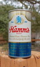 New listing Shiny Short Run Metallic Hamm'S Single City St Paul Pull Tab Beer Can!