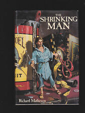 RICHARD MATHESON.THE SHRINKING MAN.HARDCOVER IN JACKET.SIGNED!.NICE COPY!
