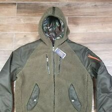 POLO RALPH LAUREN M Special Edition Aviator Green Sherpa Military Bomber Jacket