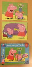 Puzzle Peppa Wutz ab 3 Jahren 2 x 12 Teile Ravensburger