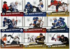 29 different 2012-13 Panini Limited Hockey Board Members #/199 Card Lot
