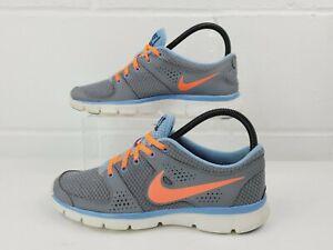 Nike Women's 7.5 Lady Flex Experience RN Running Shoes 525754-014 Blue/Orange