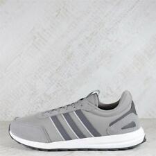 Mens adidas Retro Run Comp Dove Grey/Grey Trainers (50C20) RRP £64.99