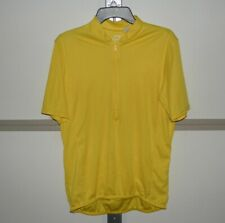 Cycling Jerseys Tops Bicycle Wear Cycle T-shirts, Bright yellow, Large
