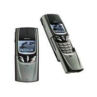 TELEFONO CELLULARE NOKIA 8850 SLIDE GRIGIO GSM INFRAROSSI RICONDIZIONATO-