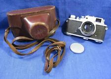 "EXC! Rare Zorki-3M Russian RF film camera with Jupiter-8 2/50 ""П""  lens M39"