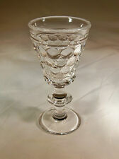 WESTMORELAND THOUSAND EYE LUSTRE STAIN LOW FOOTED SHERBET or DESSERT DISH!
