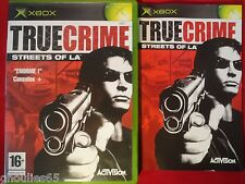 TRUE CRIME STREETS OF LA XBOX TRUE CRIME STREETS OF LA XBOX XBOX 360