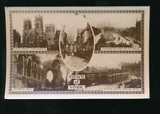 York Posted Real Photographic (rp) Collectable English Postcards
