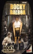 Rocky Balboa Black Robe Sylvester Stallone Movie Ring Gear VI Figure Jakks (MOC)