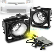 11-15 SCION XB BUMPER DRIVING CHROME CLEAR LENS FOG LIGHTS LAMPS W/3K HID+SWITCH
