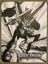 Voltron Robot Japanese Anime Manga Art Print Movie Tv Poster Mondo Cartoon Kako