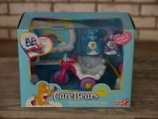 Care Bears Care-a-Lot Motorcycle Complete Playset New in Box 2003