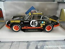 PORSCHE 911 Carrera RSR 2.8 24h Spa 1973 #46 Schickent Kremer Samson Solido 1:18